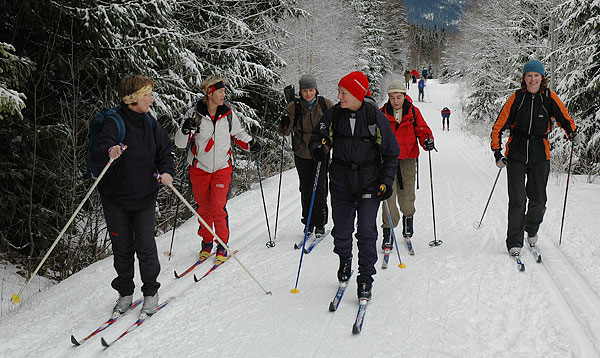 På ski inn fra Sørkedalen