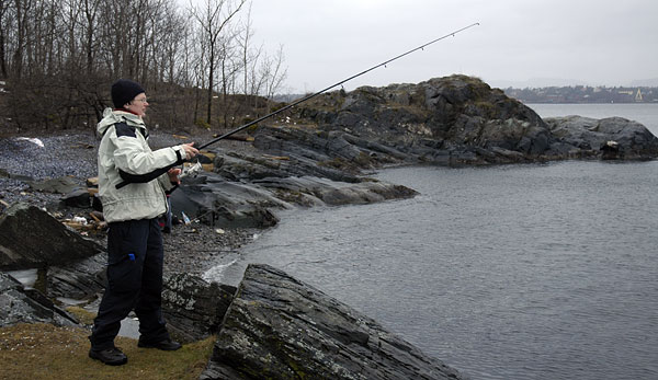 Jorun testar torskefisket