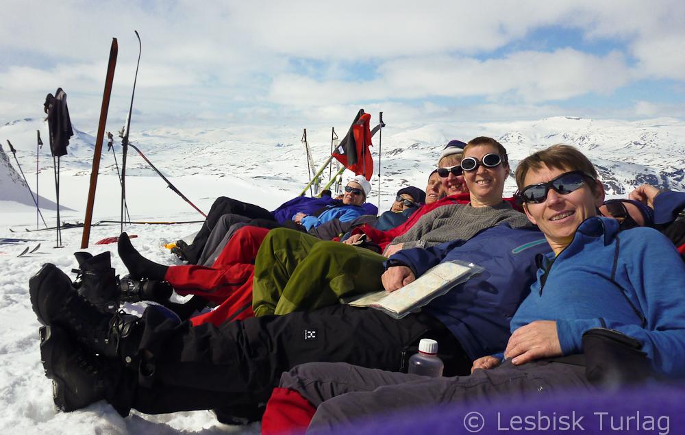 Basecamp på Leirbreen (Foto: Jorun Bye)