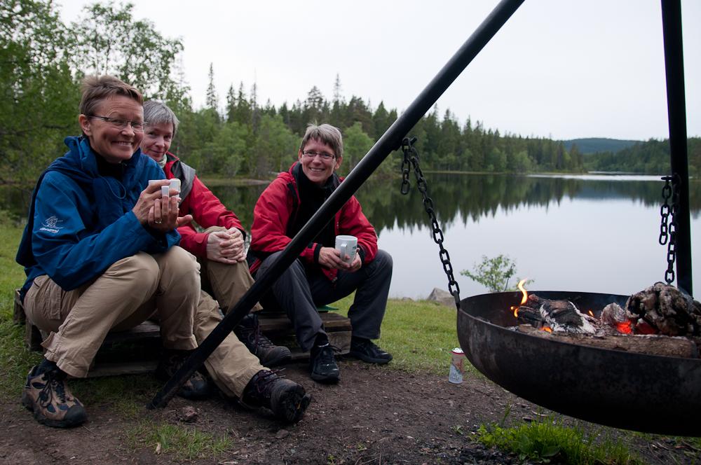 Bålkos (Foto: Rine G Carlsen)
