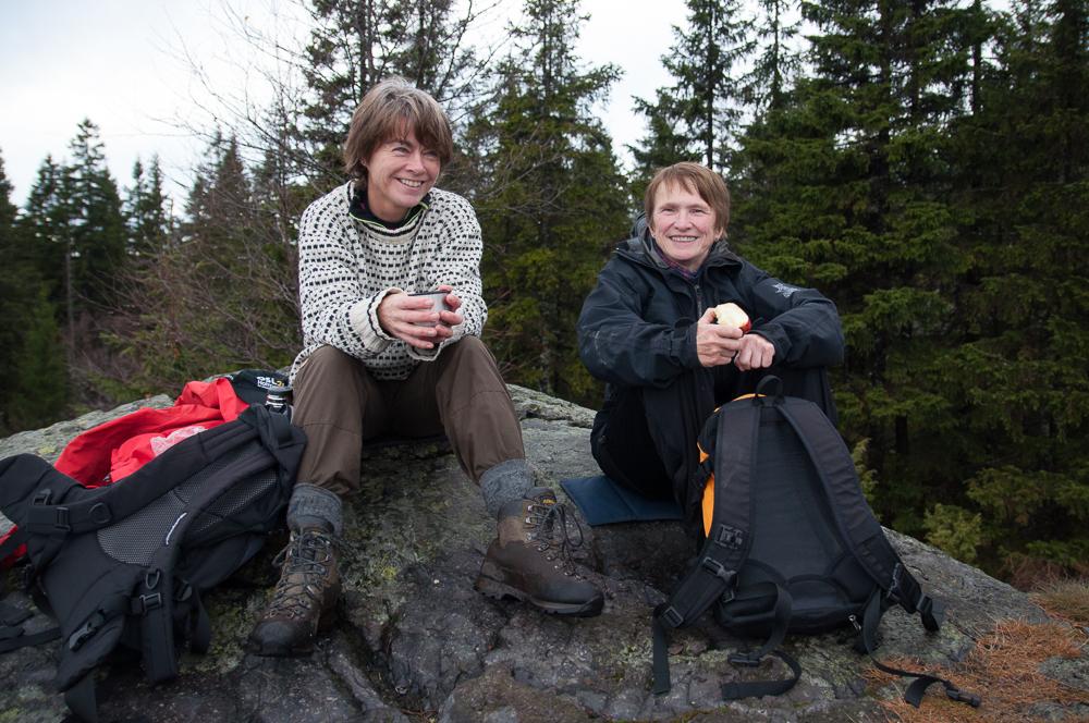 På Mellomkollen. Foto: Rine Grue Carlsen