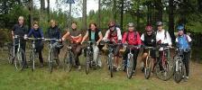 LT på sykkeltur. Foto: Siri Osvær