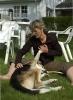 Avflåtting av hund. Susanne tar seg av Franz (Foto: Rine G. Carlsen)