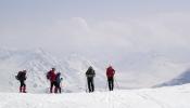 Fantastisk utsikt østover fra Bjørneskaret. Foto: Jorun Bye