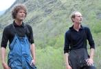 Kjekke karer: Cleng og Bertin fra Folgefonni Breførarlag kjenner breens opp- og