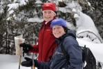 Monika, Berit, og kartet. Foto: Rine G. Carlsen
