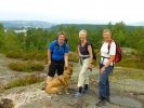 Tanja, Turid og Helga på St.Hansåsen (Foto: Anne Marie Torgersen)