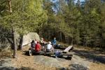 Den flotte rasteplassen på Gaupefjell