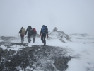 Brått ble det vinter (Foto: Vigdis Thoengen)