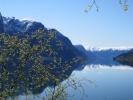 Nasjonalromantikk: 17. mai-stemning ved Sognefjorden.  (Foto: Nina Didriksen)