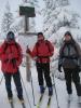 Lørdag begynte turen et stykke i Birkebeinerløypen (Foto: Marianne)