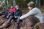Dypsindig diskusjon. Foto: Rine Grue Carlsen