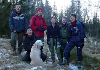 Turdamene. Frevenstre: Hilde, Eva, Selina, Inger, Jorun, Anita og Jofrid. Foto: