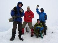 Kristin Vigdis Marianne Ragnhild på Sokse (2189 moh). Foto: Nina Didriksen