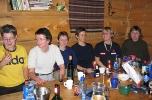 God stemning: F.v. Silje, Liv-Elin, Jorun B, Ingvill, Ellen og Jorun G.
