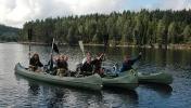 Turgjengen f.v.: Dagny, Margrethe, Jorid, Turid, Inger, Iwona og Jofrid.