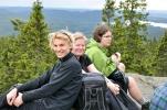 Utsikt frå toppen av Mellomkollen. Foto: Rine G. Carlsen