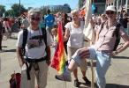 Paradeforberedelser på Rådhusplassen. (Foto: Anita Svenkerud)