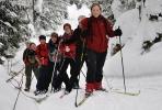 Turleder Monika i spissen for alle damene. Foto: Rine G. Carlsen