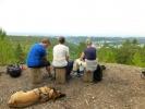 Tanja, Helga og Turid på Skullerudåsen (Foto: Anne Marie Torgersen)