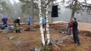 Gapahukgjengen i aksjon (Foto: Kjersti Nystrøm)