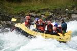 Adrenalinfylt action! (Foto: Sjoa Rafting)