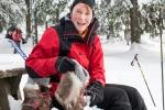 Inger har vært ute en vinternatt før (Foto: Rine G. Carlsen)