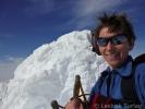 Fornøyd turleder på toppen av Fannaråken (Foto: Jorun Bye)