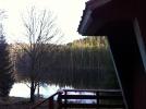 Endelig sol, her sett fra Røyrivannskoias lille veranda. (Foto: Nina Didriksen)